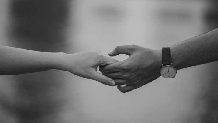 A cordial smile is all it took to steal her breath away. Their hands touched Rapture!